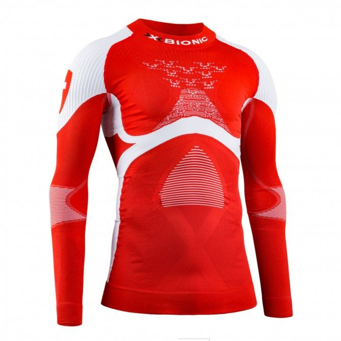 Maglia intimo X-Bionic Energy Accumulator 4.0 Patriot Switzerland