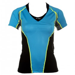 t-shirt trail running Crazy Idea Runway femme