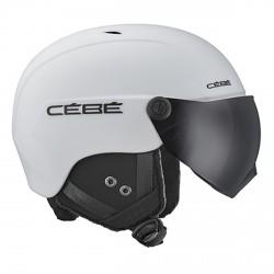 Casco Sci Contest Vision Matt White - Grey Ultra Black