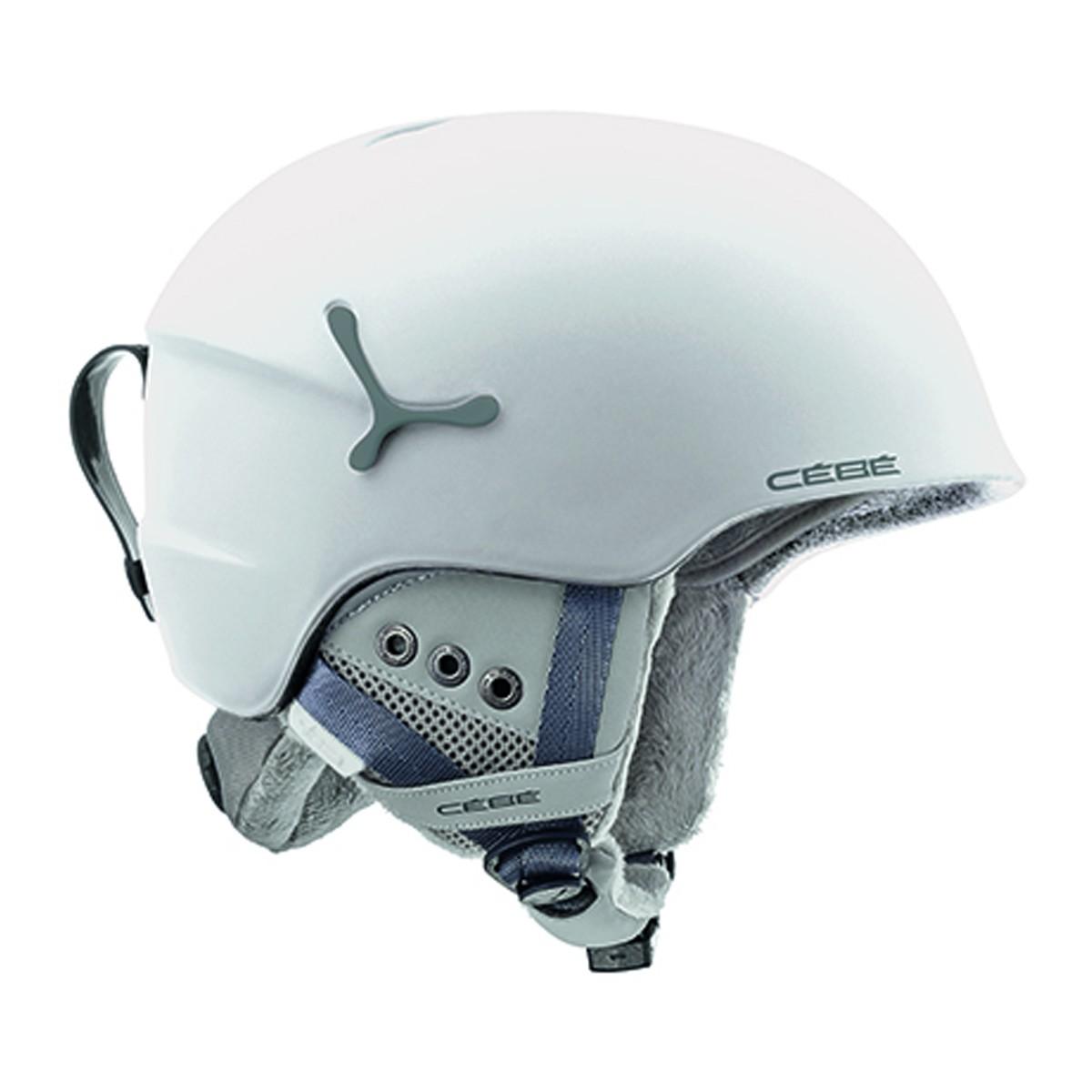 Casco sci Cebe Suspense Deluxe (Colore: matt white-silver, Taglia: 54/56)