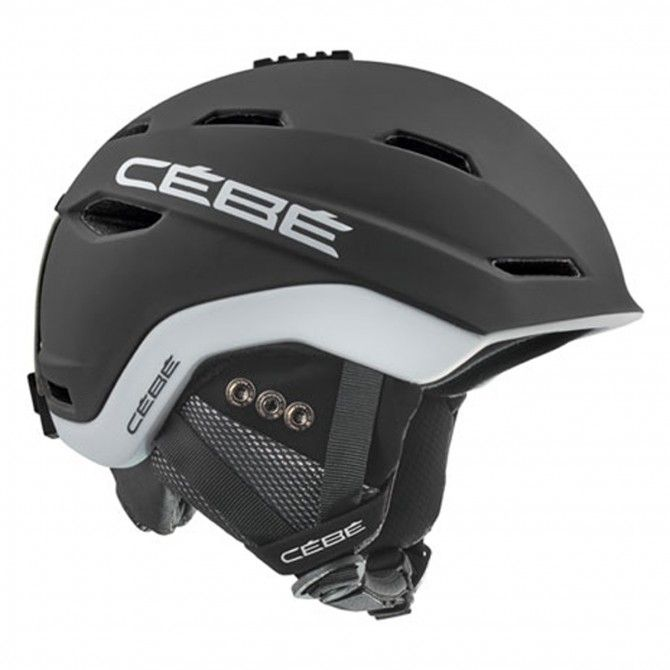 Casco Sci Venture Mat Black White