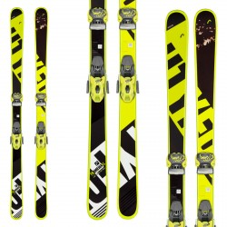 Ski Head Frame Wall with Attack 13 GW bindings