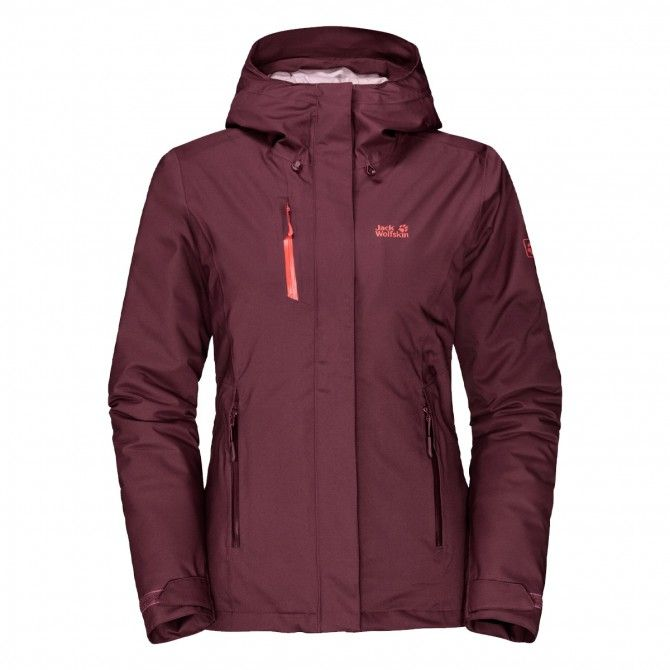 Giacca Jack Wolfskin Troposphere fall red