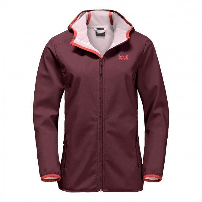 Windstopper Jack Wolfskin Northern Point fall red