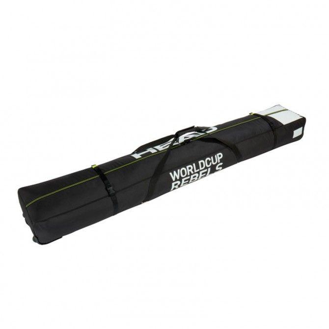 Sacca Portasci Head Rebels Double Ski Bags nero bianco