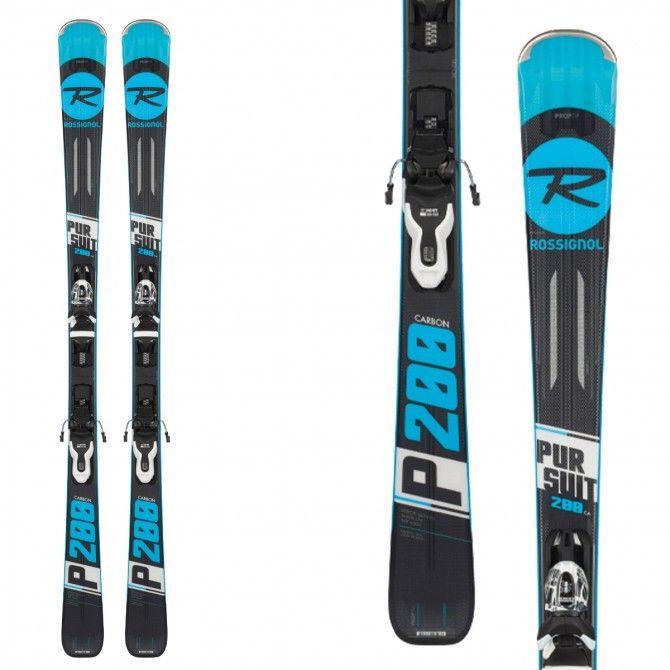 Ski Rossignol Pursuit 200 Carbon (Xpress2) avec fixations Xpress 10 B83