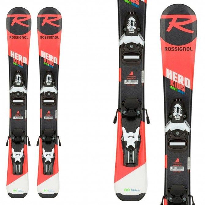 Ski Rossignol Hero Pro + fixations Sx 4.5