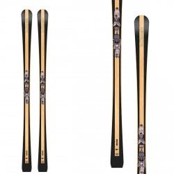 Skis Bottero Ski Prestige avec plaque Vist X-Step et fixations Vist VM412