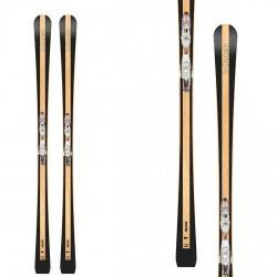 Ski Bottero Ski Prestige Wood con placa Vist X-Step y accesorios Vist VSP310