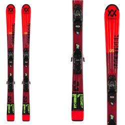 Esquí Volkl Racetiger Jr Red con fijaciones 7.0 vMotion