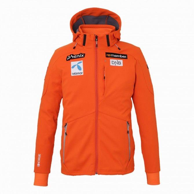 Soft shell Phenix Norway alpine team arancio