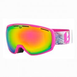 Máscara de esquí Bollé Laika Pink Hawaii