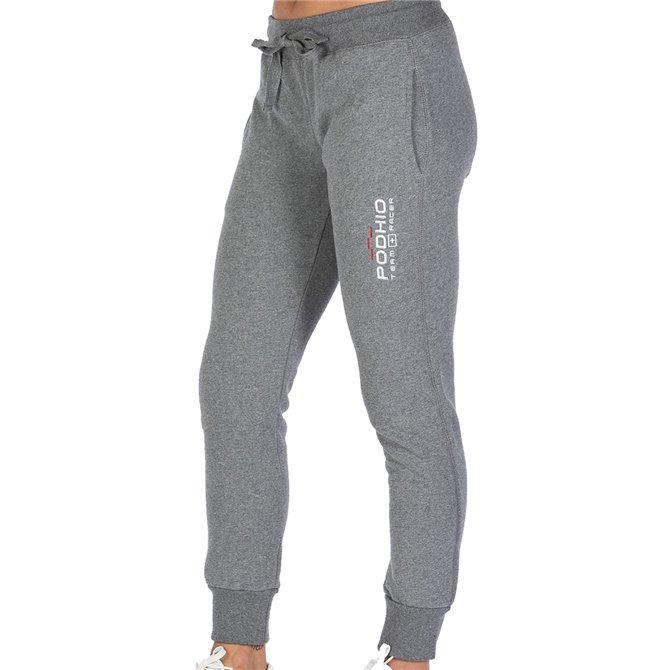 Pantalones de gimnasio Mujer azul jeans