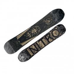 Snowboard Nitro Magnum nero-ocra-grigio