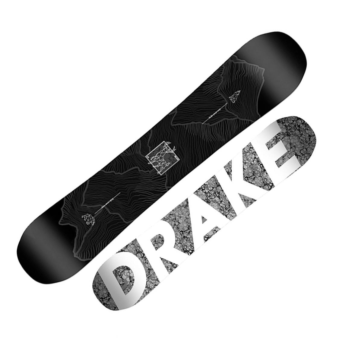Snowboard Drake Gt Wide (Colore: nero, Taglia: 159)