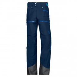 Pantalone sci Norrona Lofoten Gtx Insulated blu