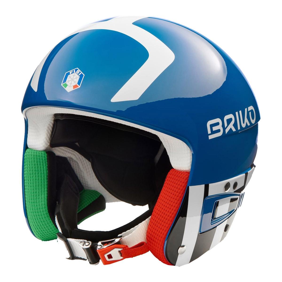 Casco sci Briko Vulcano 6.8 (Colore: ROYAL BLUE, Taglia: XS)