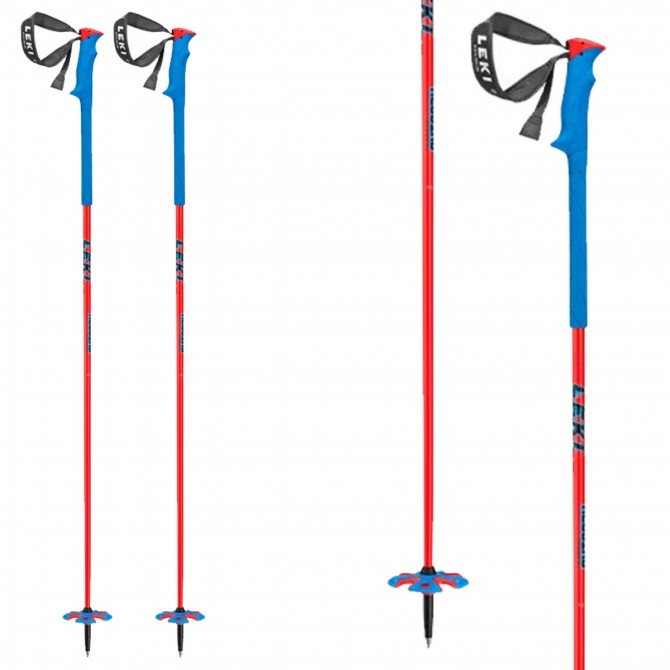 Bastones de esquí  Leki Bird rojo-azul