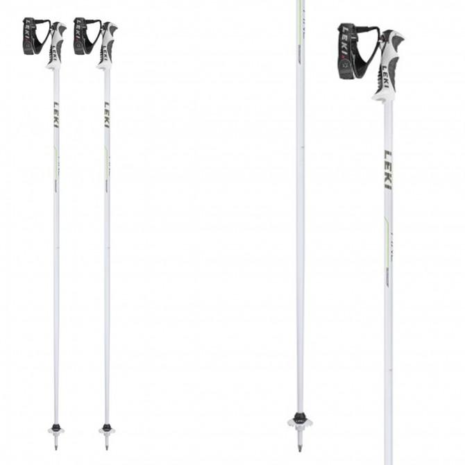 Ski poles Leki Fine S white