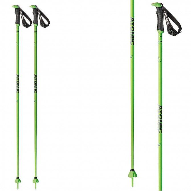Ski poles Atomic Redster X Sqs green