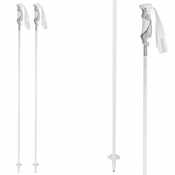 Ski poles Komperdell Rebelution Carbon white