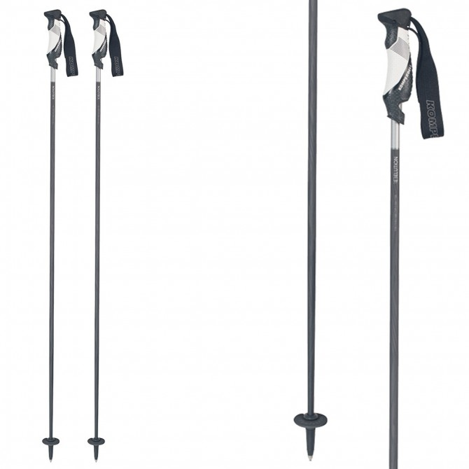 Ski poles Komperdell Rebelution Carbon black