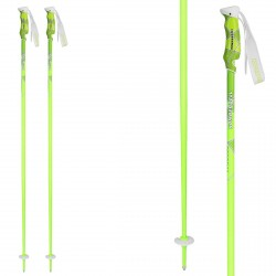 Ski poles Komperdell Virtuoso green