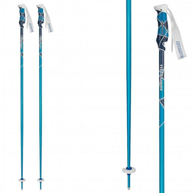 Bâtons ski Komperdell Virtuoso bleu