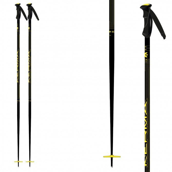 Bâtons ski Kerma Vector Yellow
