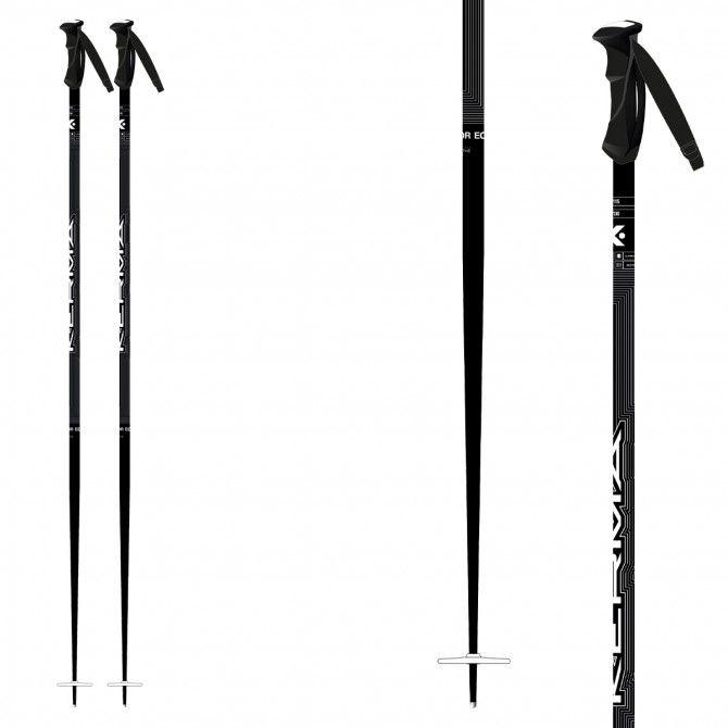Ski poles Kerma Vector White