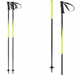 Ski poles Head Head Pro black-yellow