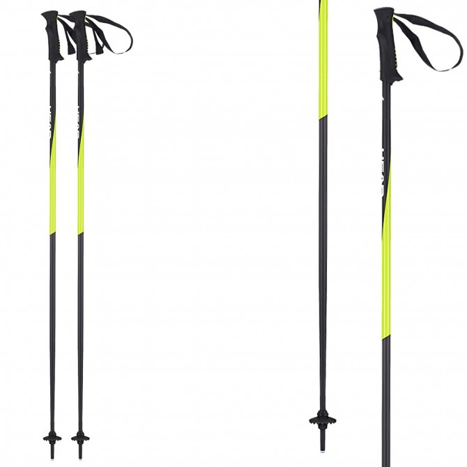 Bastoni sci Head Pro nero-giallo