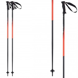 Ski poles Head Head Pro black-red