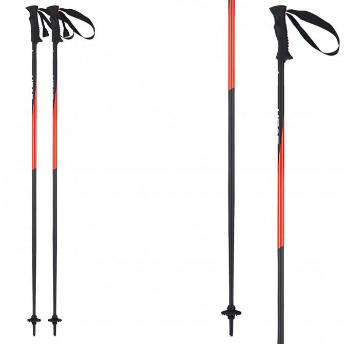 Ski poles Head Head Pro black-red