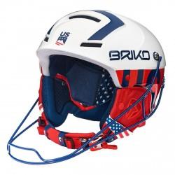 Casco sci Briko Slalom Ussa blue white red