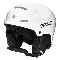 Casco sci Briko Mammoth white ash