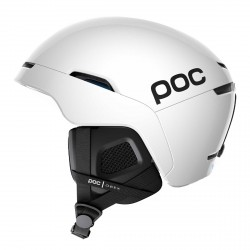 Poc Obex Spin white ski helmet