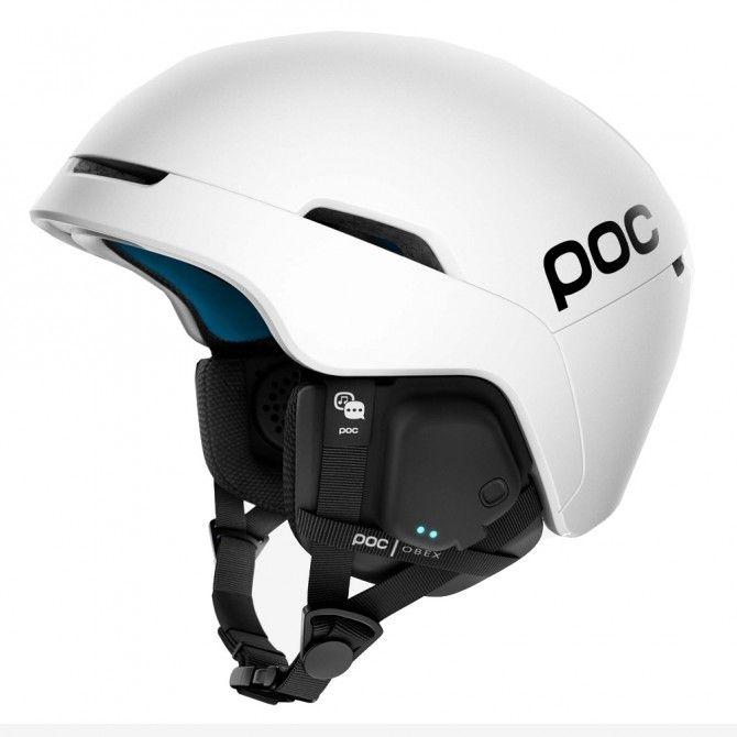 Casco sci Poc Obex Spin Comunication hydrogen white