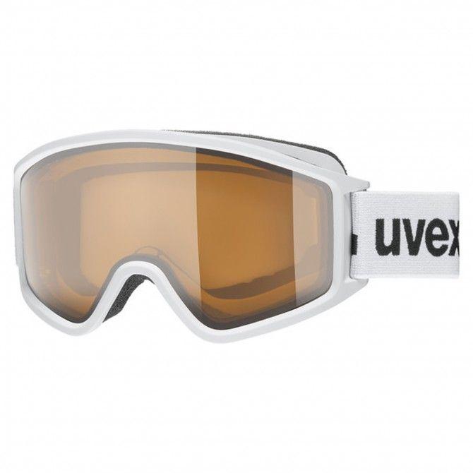 Maschera sci Uvex 3000 P white mat