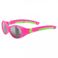 Occhiale sole Uvex Sportstyle 510 pink-green mat