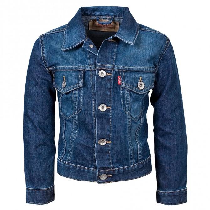 giubbotto jeans Levi's Girl (2-6 anni)