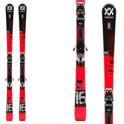 Ski Volkl Racetiger RC Red avec fixations vMotion 12