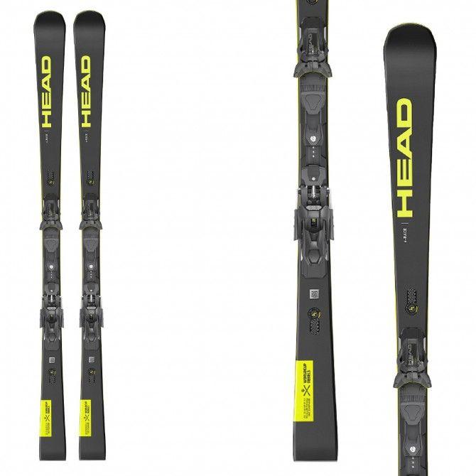 Ski Head WC Rebels e-race EVO 14 avec fixations Freeflex ST 14 2021