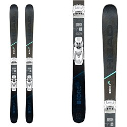 Ski Head Kore 93 woman with bindings Attack 12
