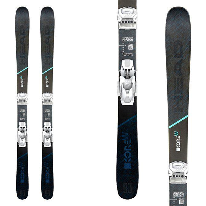 Ski Head Kore 93 femme avec fixations Attack 12