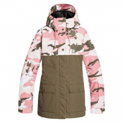 DC Wos Giacca snow Cruiser Jkt DUSTY ROSE WMN VINTAGE CA