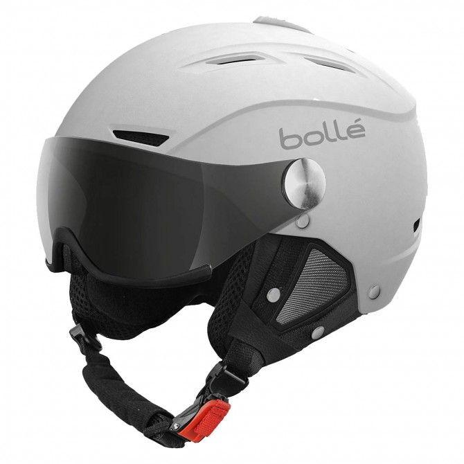 Casco sci Bollè Backline visor bianco