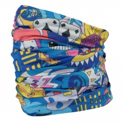 Neck warmer Barts Multicolor Crazy