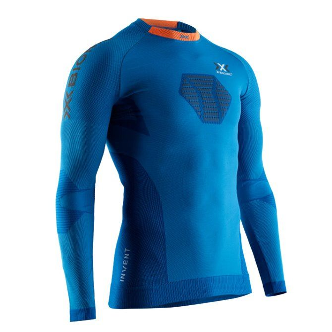 Maglia intimo X-Bionic Invent 4.0 teal blue-anthracite