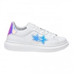 Zapatillas de mujer 2Star Low blanco-iridiscente